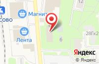 Схема проезда до компании Русский Фонд Недвижимости в Кузьмоловском