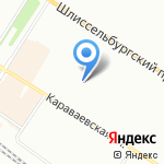 Прогноз-Рыбацкое на карте Санкт-Петербурга