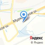 БериОбои на карте Санкт-Петербурга