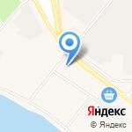 Пена на карте Санкт-Петербурга