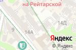 Схема проезда до компании Индиан холидей Украина в