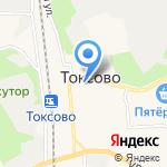 Магазин детской одежды и обуви на карте Санкт-Петербурга