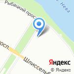 Селена на карте Санкт-Петербурга
