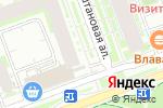 Схема проезда до компании Эльф в Кудрово