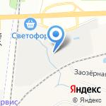 Piterra на карте Санкт-Петербурга