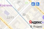 Схема проезда до компании Управління поліції в метрополітені в