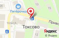 Схема проезда до компании Невис в Кузьмоловском