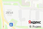 Схема проезда до компании Токсово в Токсово