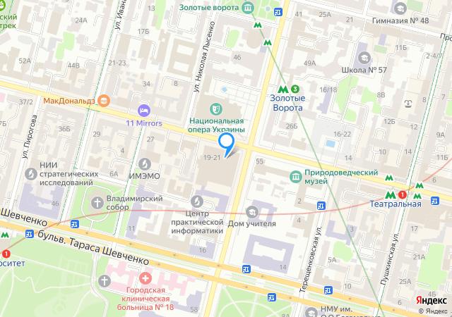 Киев, Olympic Hall наБогдана Хмельницкого, 17/52.