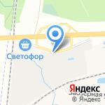 ЛогоМебель на карте Санкт-Петербурга