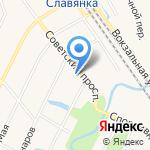 Основная общеобразовательная школа №465 на карте Санкт-Петербурга
