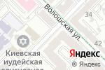 Схема проезда до компании Нотариус Горобинская А.А. в