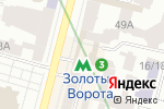 Схема проезда до компании Escada в
