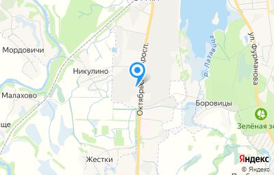 Местоположение на карте пункта техосмотра по адресу Псковская обл, г Великие Луки, пр-кт Октябрьский, д 138
