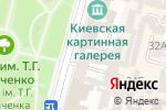 Схема проезда до компании Київська міська організація ветеранів України в