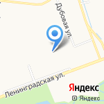 Оккервиль на карте Санкт-Петербурга