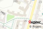 Схема проезда до компании Нотариус Дудаш М.М. в