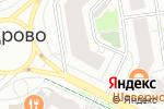 Схема проезда до компании Русская недвижимость в Кудрово