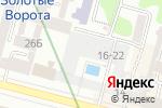 Схема проезда до компании Киевпроект, ПАТ в