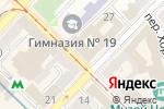 Схема проезда до компании Xclusive в