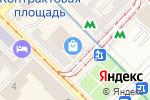 Схема проезда до компании MknailSV в
