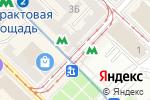 Схема проезда до компании Киоск по продаже сувениров в