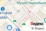 Схема проезда до компании Продовольственный магазин в