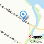 Уран на карте Санкт-Петербурга
