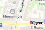 Схема проезда до компании Нотариус Морозова С.В. в