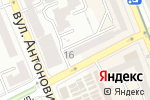 Схема проезда до компании Інтер Стиль в