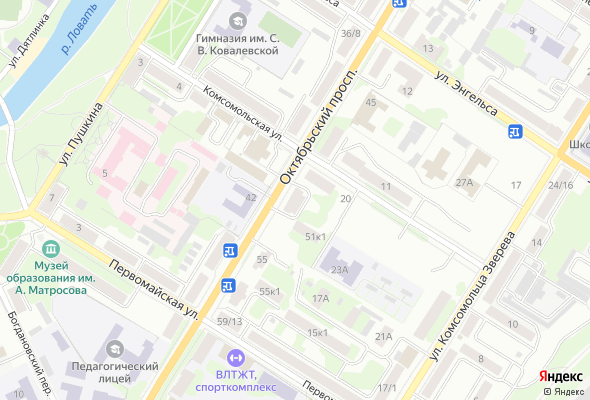 купить квартиру в ЖК Пр-т Октябрьский, д. 51