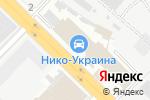 Схема проезда до компании Київський річковий порт, ПАТ в