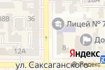 Схема проезда до компании Адвокат Багатченко Ю.В. в