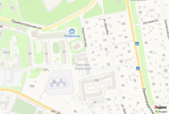 купить квартиру в ЖК Токсово, Короткий пер.