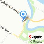 Сади на карте Санкт-Петербурга