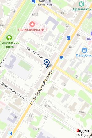 АПТЕКА ВЕЛАГРОФАРМ на карте Великих Лук