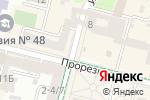 Схема проезда до компании Кофейня в