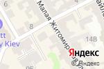 Схема проезда до компании Українське реєстрове козацтво в