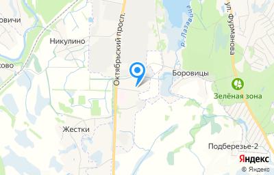Местоположение на карте пункта техосмотра по адресу Псковская обл, г Великие Луки, пр-кт Октябрьский, д 125Б