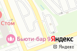 Схема проезда до компании Шиномонтажная компания в Кудрово