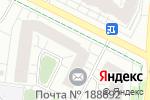 Схема проезда до компании Единый центр новостроек Тренд в Кудрово