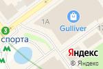 Схема проезда до компании Терминал самообслуживания, Ощадбанк в
