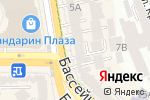 Схема проезда до компании Полиграфъ Полиграфыч в