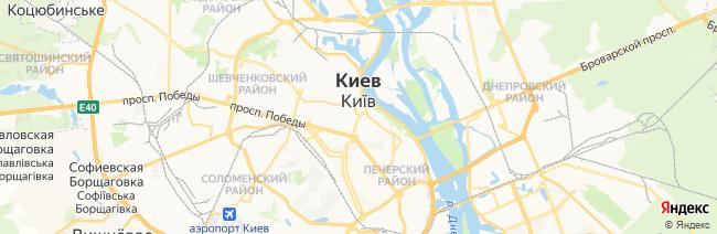 Киев на карте