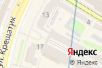 Схема проезда до компании Лабиринт призраков в