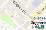 Схема проезда до компании Банкомат, АБ Укргазбанк, ПАО в