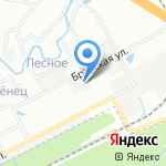 Радиант на карте Санкт-Петербурга