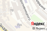 Схема проезда до компании Адвокат Мазур С.В. в
