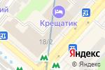 Схема проезда до компании Київська міська рада профспілок в