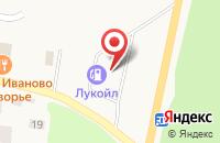 Схема проезда до компании ЛУКОЙЛ-ЛИКАРД в Токсово